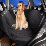 Quilted Dog Car Seat Cover