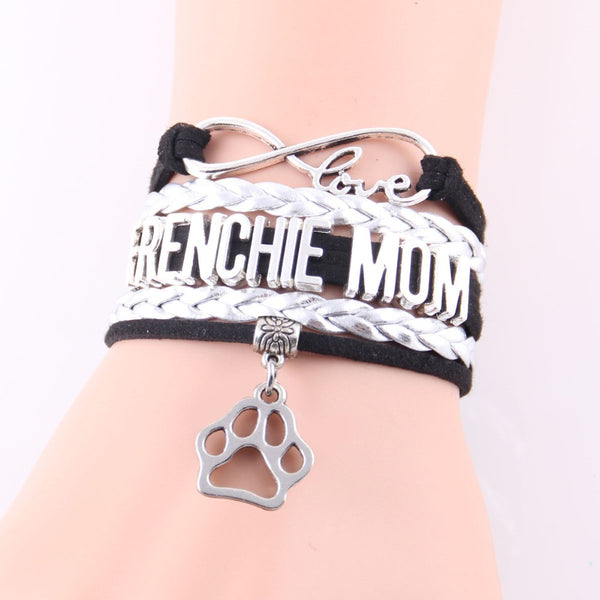 Frenchie Mom French Bulldog Bracelet