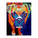 Boxer Print Oil Painting