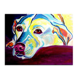 Large Labrador Retriever Print Oil Painting