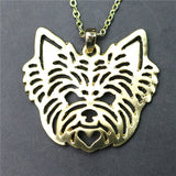Yorkshire Terrier Charm with Chain