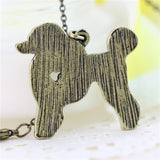 Vintage Poodle Necklace