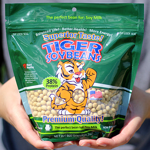 Tiger Soybeans Product 800 Gram Bag