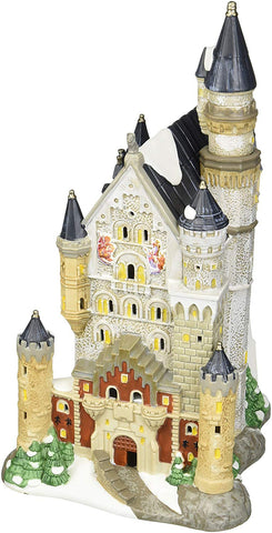 Department 56 Alpine Village Neuschwanstein Castle Light House