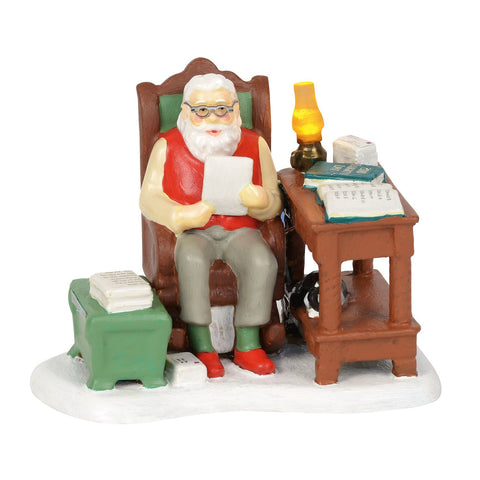 Department 56 Original Snow Village Santa Comes To Town 2018 Village Figures