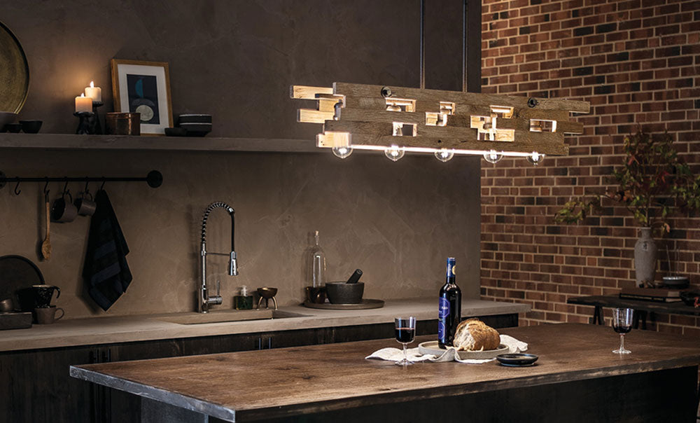 Industrial Frames Collection Industrial Frames 5 Light Linear ...