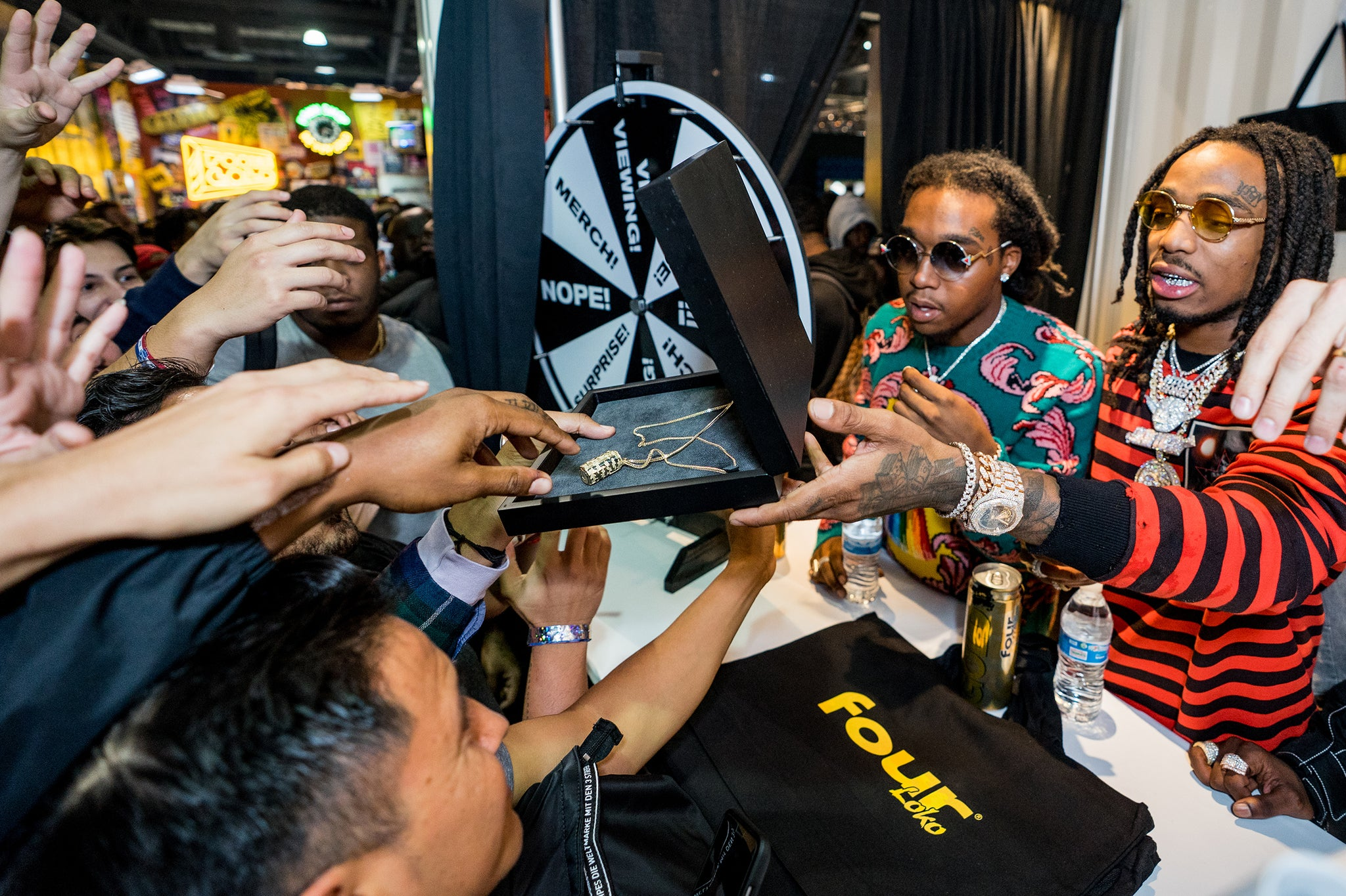 Couldn't have asked for a better photo from Complexcon.