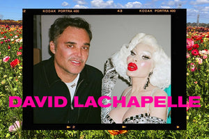Spotted: David LaChapelle wearing custom RORY ROCKMORE.