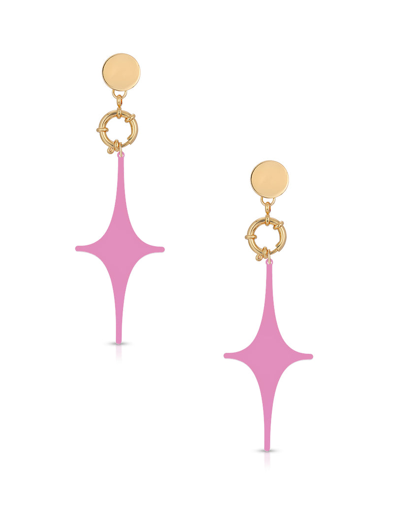 Spark Drop Earrings