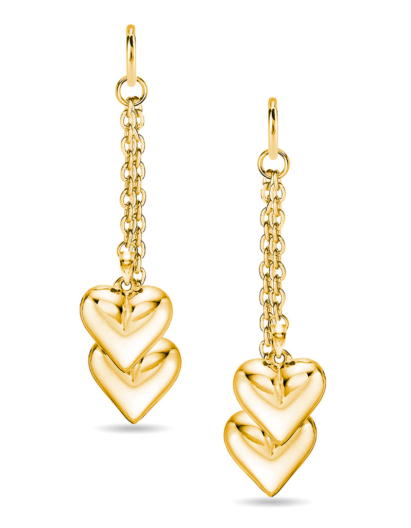 Double Shot at Love Earrings