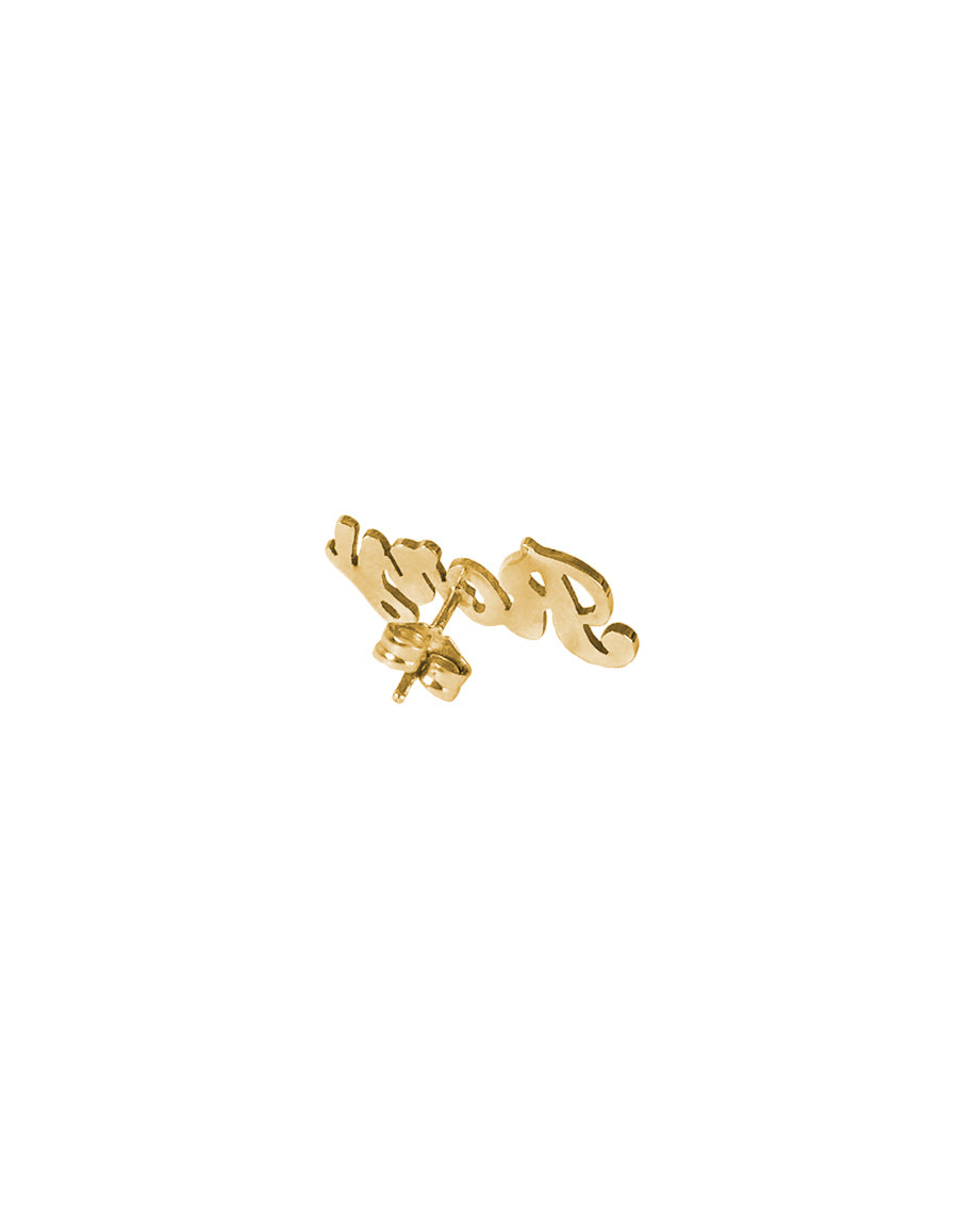 14K Custom Stud Earring