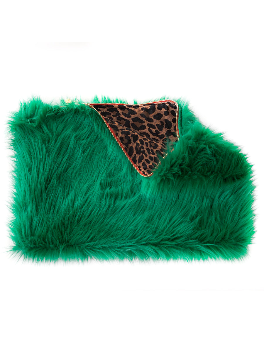 BABS FUR CLUTCH