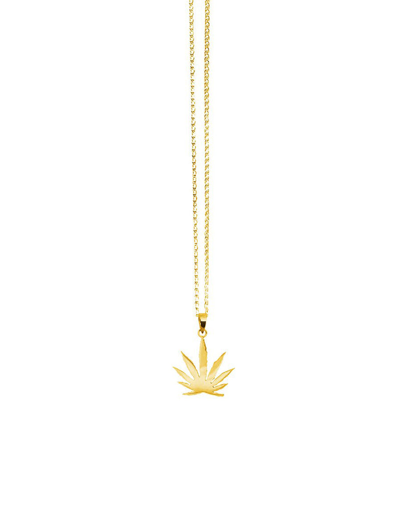 14K Team Sativa Pendant