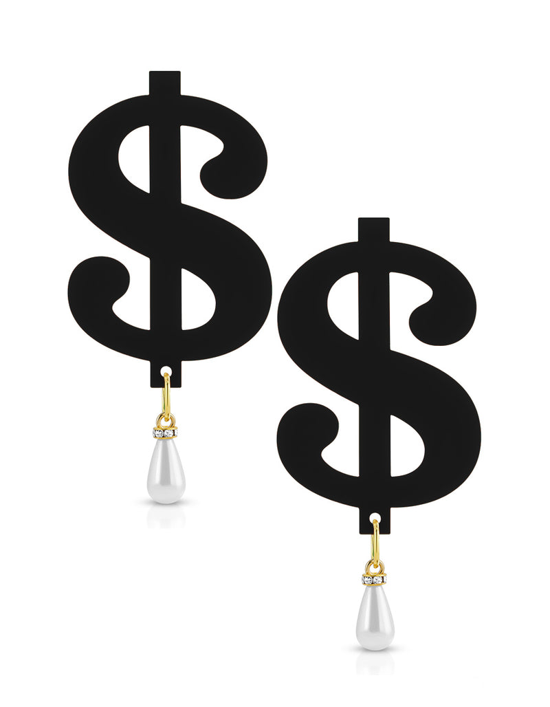 Pearl Drip Cash Earrings