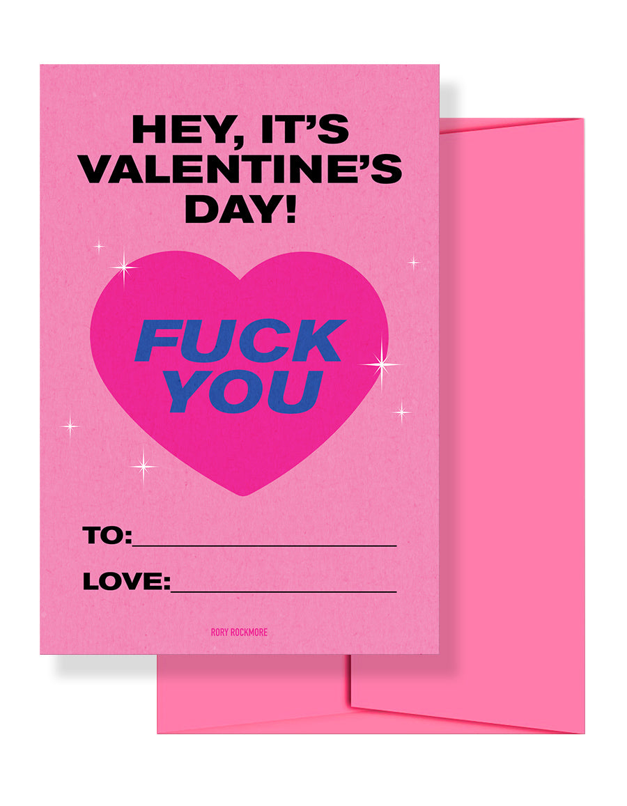 Fuck You Valentines — 5 Pack