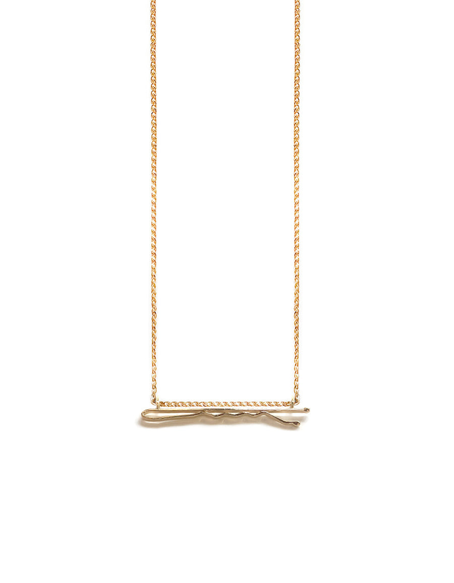 Bobby Pin Necklace