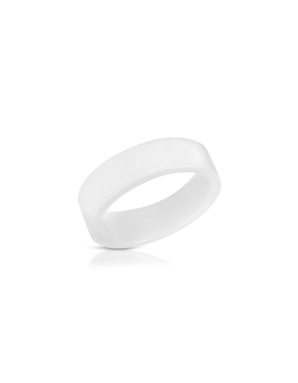 White Wedding Band