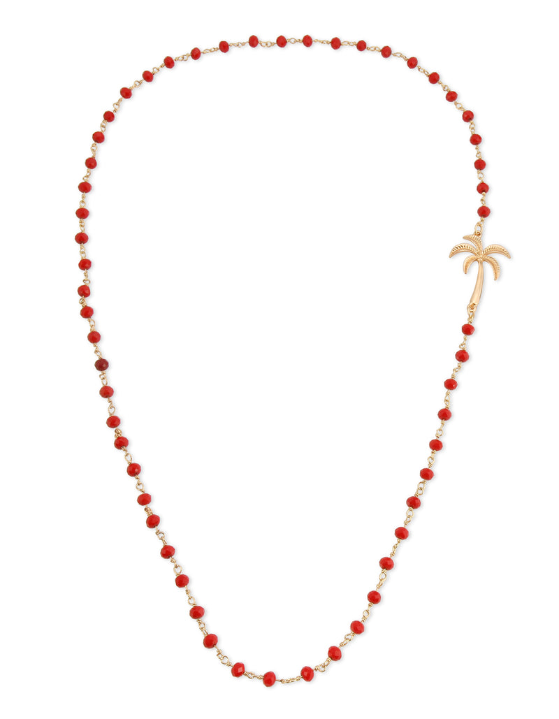 Palm Rosary Necklace