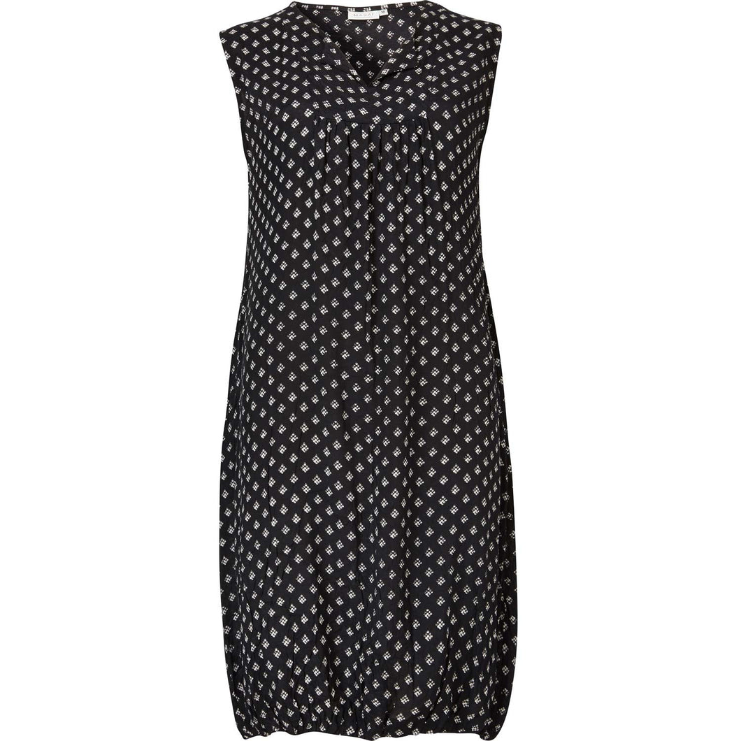 Obena Fitted ns Dress BLK