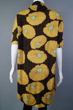 Cowl Neck Tunic w.Floral Print ss