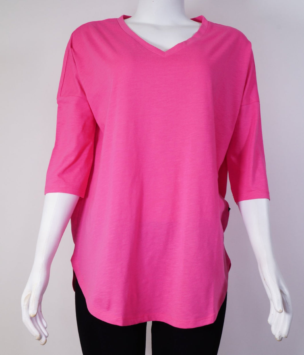 Anna Abia 3/4 V-Neck Long Top