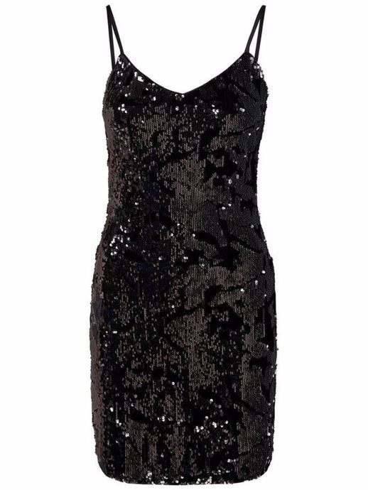 Nikita Sequin Strap Short Dress