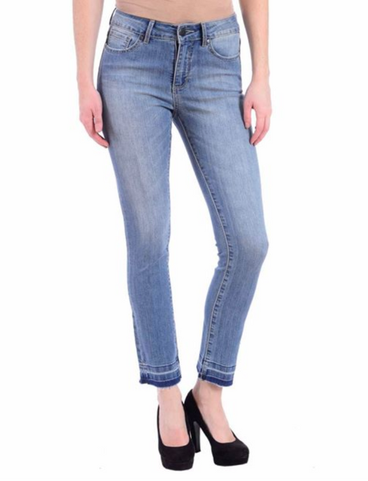 Lianne Mid Rise Ankle Jeans