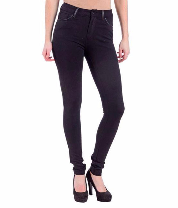 Erin Mid Rise Ponte Jersey Skinny