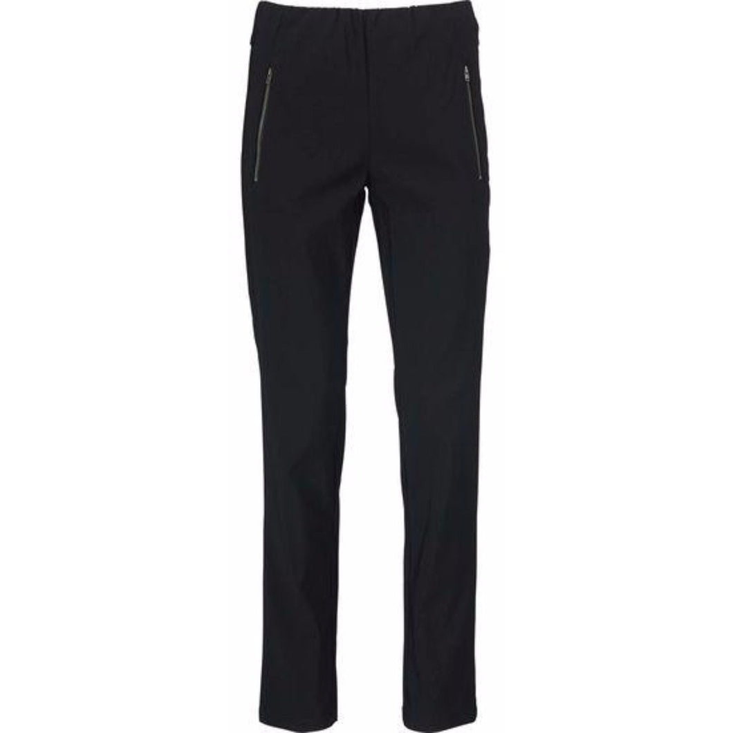 Pearl Fitted Trousers ew BLK