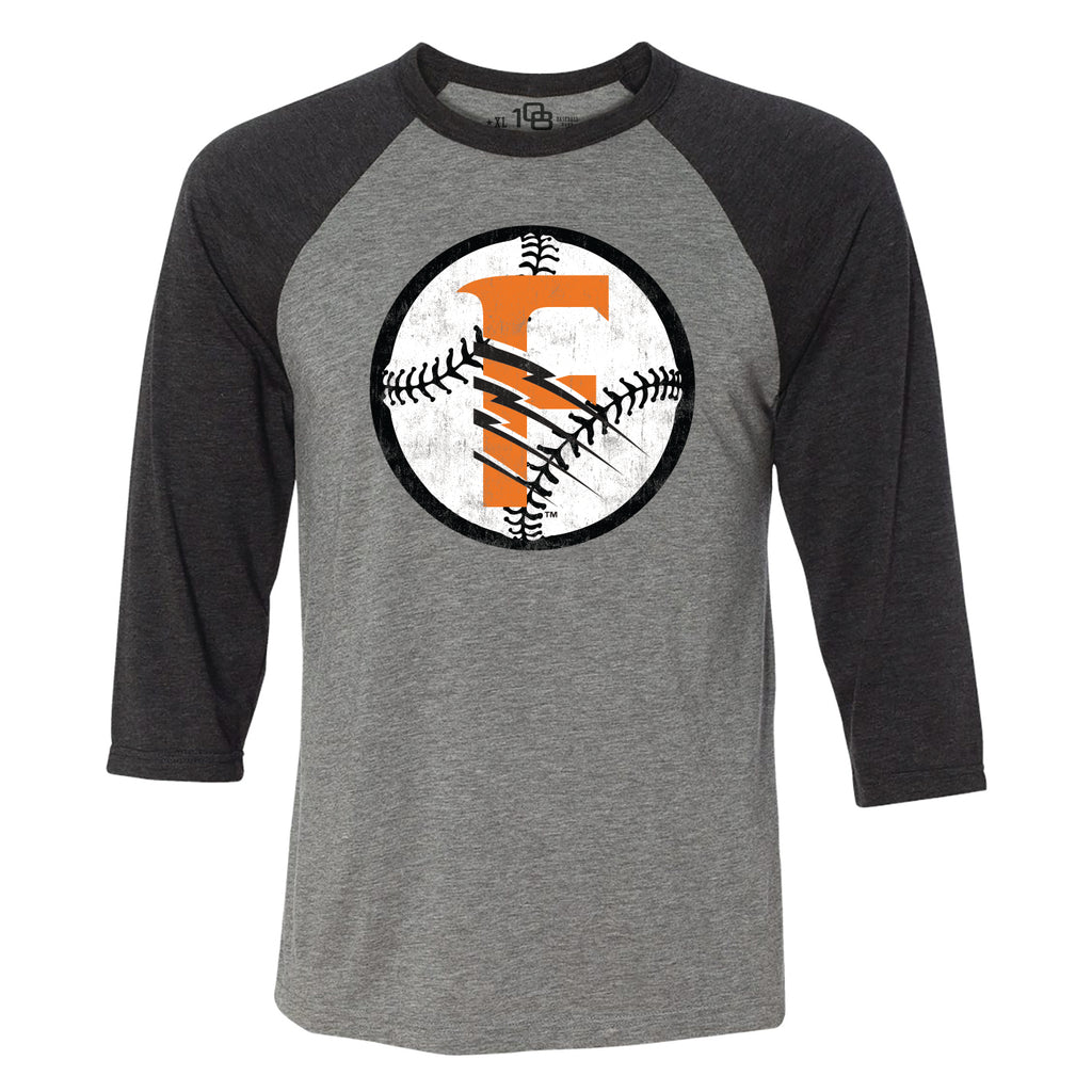 Fresno Grizzlies Men's Circle Raglan