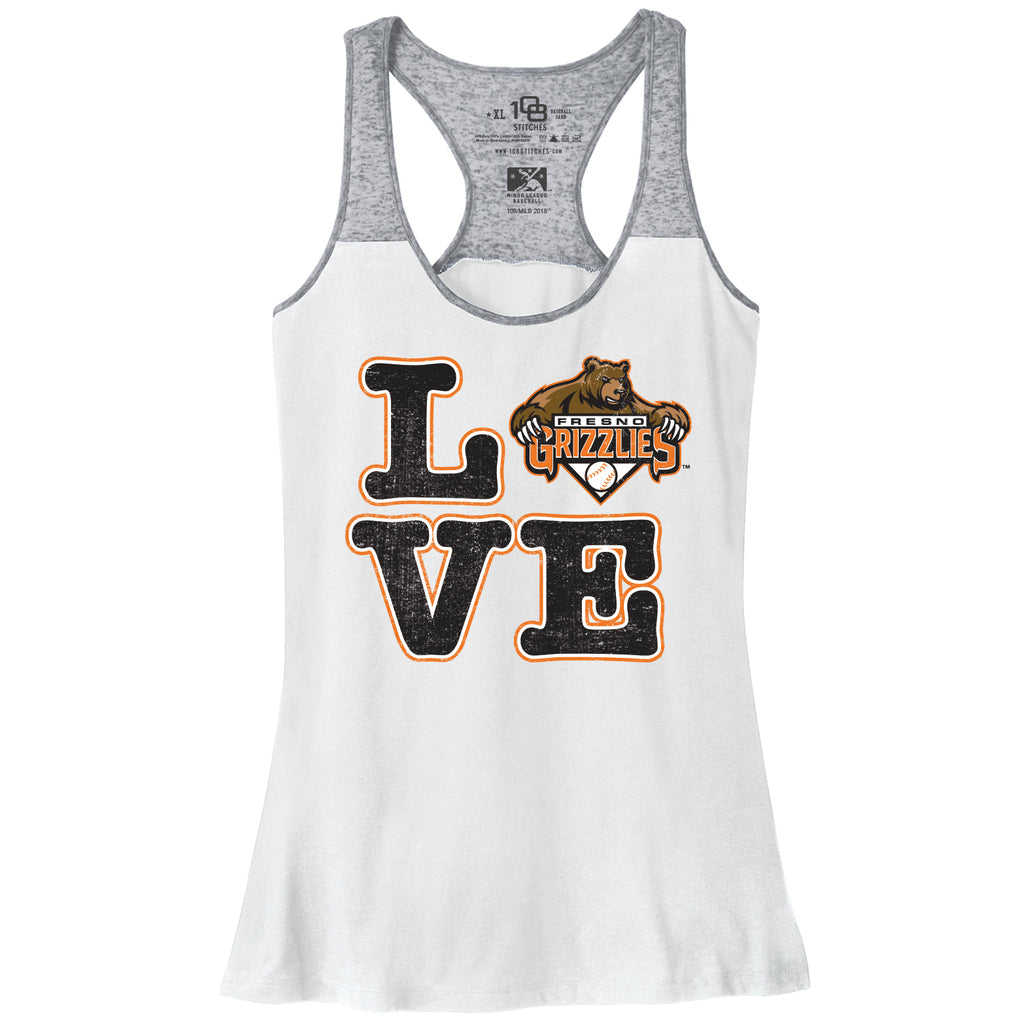 Fresno Grizzlies Ladies Love Tank