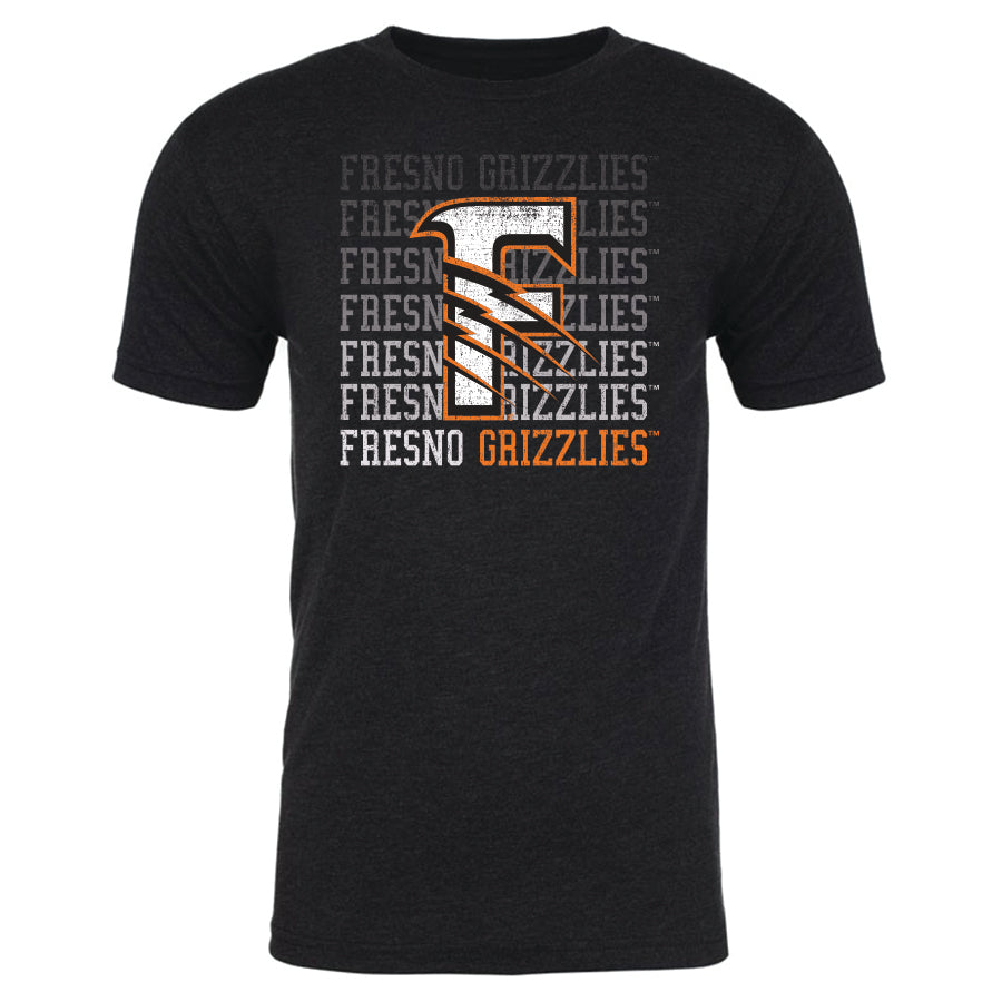 Fresno Grizzlies Men's Repeater Tee