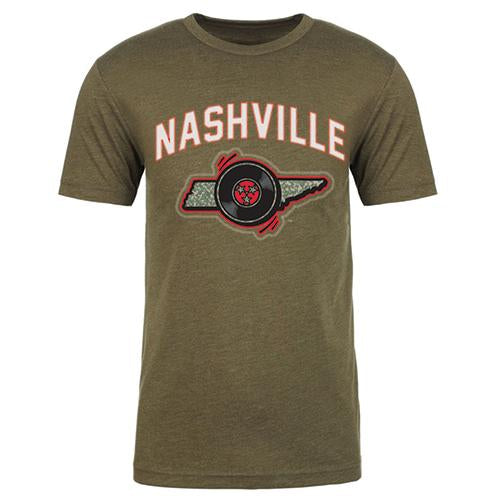 Nashville Sounds Men's Camo Tee