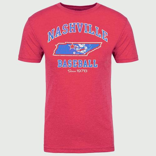 Nashville Sounds Men's State Tee