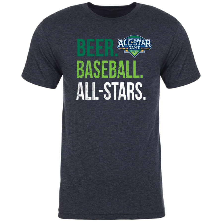 Triple-A All-Star Game Men's Beer Baseball Tee