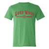 108 Stitches - Good Wood Tee (Green)