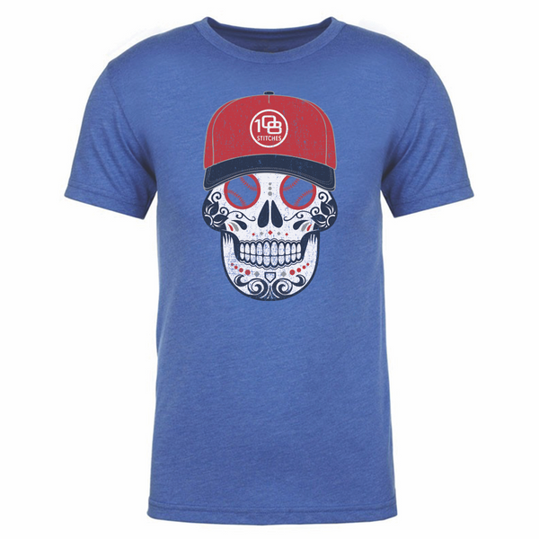 108 Stitches - Men's Sugar Skull Tee