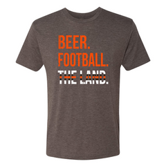 108 Stitches - Cleveland Beer Football Tee