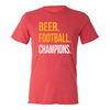 108 Stitches - Kansas City Beer Football Tee