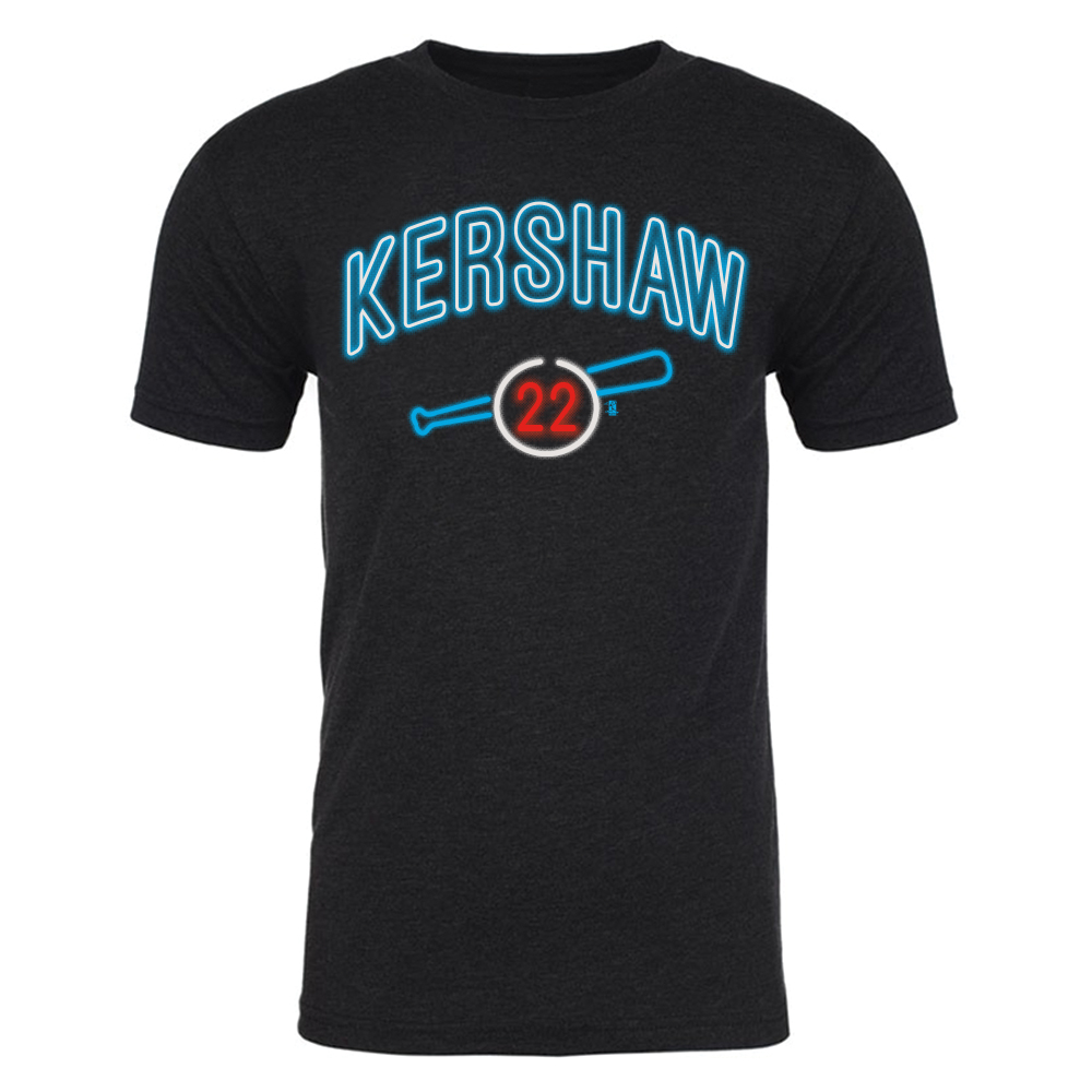 Clayton Kershaw - Men's Neon Tee