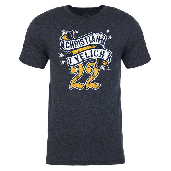 Christian Yelich - Rockabilly Tee