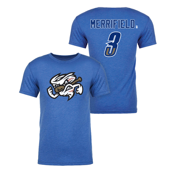 Whit Merrifield - Omaha Storm Chasers Name and Number Tee