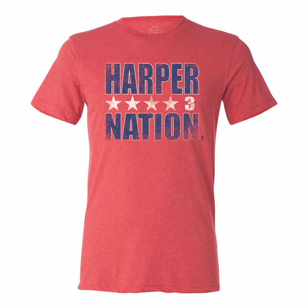 Bryce Harper - Men's Nation Tee