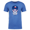 Texas - Men's State Flag Sugar Skull Tee