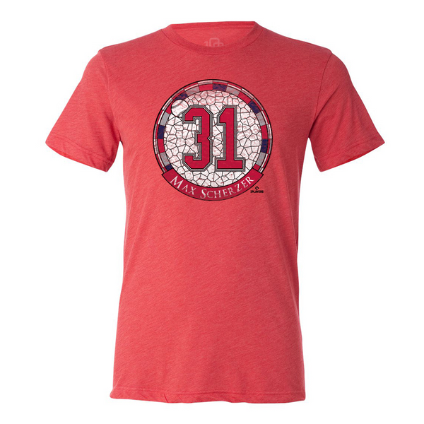 Max Scherzer - Stained Glass Tee