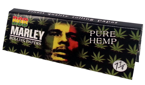 Bob Marley Pure Hemp Papers (1 1/4th) - ZREYAZ