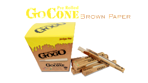 Gogo  Prerolled Brown - Set of 10 - ZREYAZ