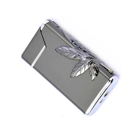 Cannabis Theme Refillable Torch Lighter - ZREYAZ