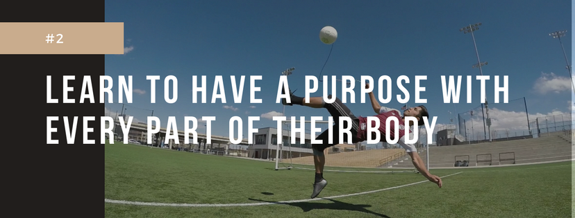 soccer purpose with every part of body