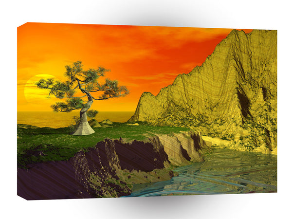 3d Art Another World A1 Canvas